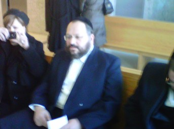 Nechemya Weberman in Kings County Supreme Court on 3-25-11 (photo credit Joseph Diangello)