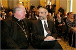 "Rabbi Zweibel of Agudah and Cardinal Dolan ""We have so much in common!"""