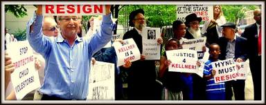 Rally to Free Sam Kellner (7/11/13) in front of Office of Brooklyn DA