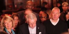 Charles (Joe) Hynes Conceding Defeat in Nov 2013 Photo Clip from Kelly Stuart Video footage
