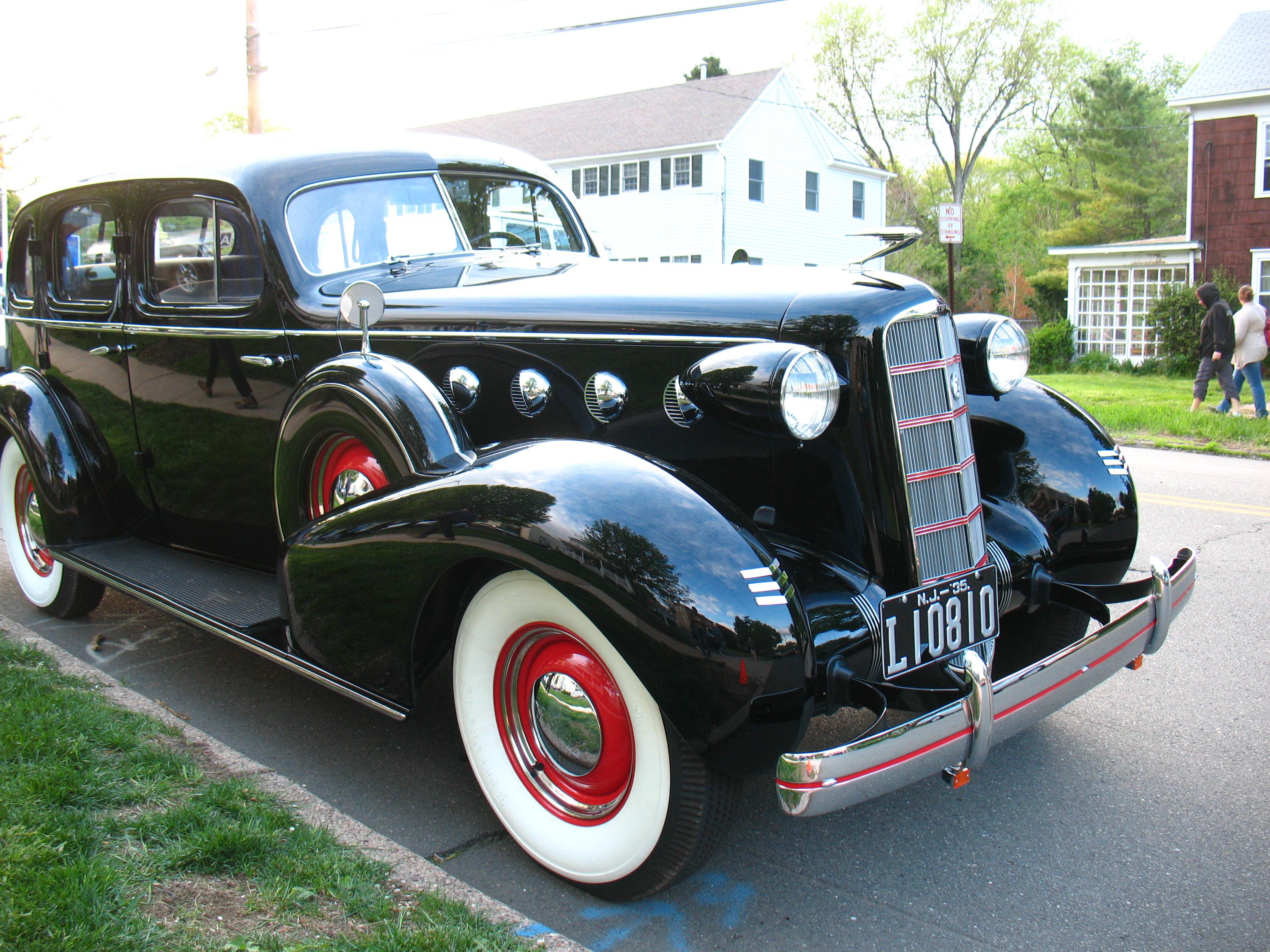 Gangster 1928 Cadillac Frum Follies By Yerachmiel Lopin