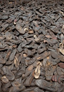holocaust shoes Majdanek