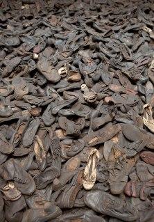 holocaust shoes Majdanek