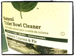 OU Kosher Toilet Bowl Cleaner