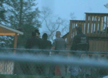 Police Investigating Oberlander @ Bobov Camp Shalva