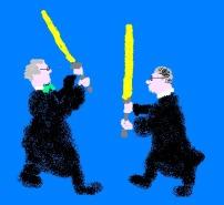judges fighting