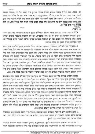 Shafran Yeshurun Psak 6