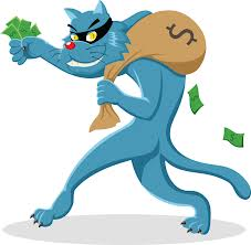 Donating stolen money