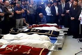 Sassoon 7 children before burial