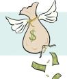 money loss drawing