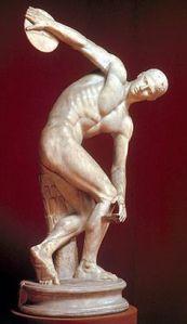 statue discus