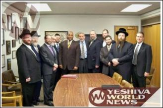 Mendy Israel part of Agudath Israel delegation to Albany to oppose gay marriage