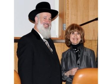 Tzipi Tzipora Schorr and Yona Metzger